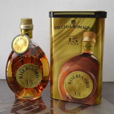 Brandy Vecchia Romagna Riserva d'Oro 15 anni