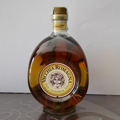 Brandy Vecchia Romagna Classica Etichetta Bianca
