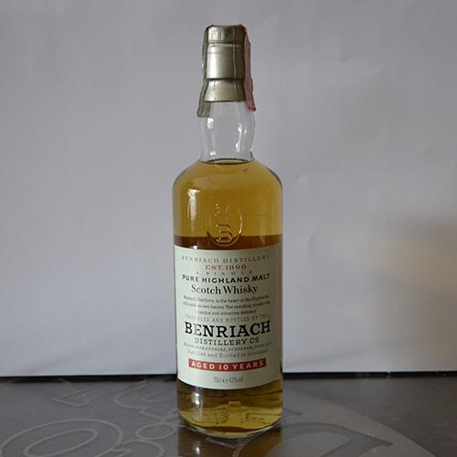 Whisky Benriach 10 anni