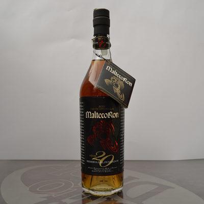 Rum MaltecoRon 20 anni reserva del fundador