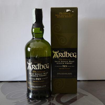 Whisky Ardberg 10 anni