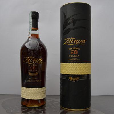 Rum Zacapa Centenario Sistema Solera 23 anni