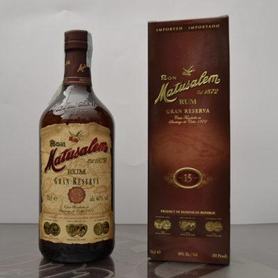 Rum Matuzalem Gran Reserva 15 anni