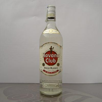 Rum Havana Club Añejo Blanco