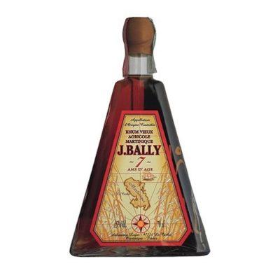Bottiglia a forma Piramidale J. Bally 7 anni